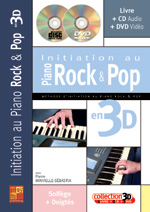 Initiation au piano rock et pop en 3D